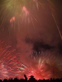 2004年諏訪湖祭湖上花火大会 Kiss of Fire 最後の1枚