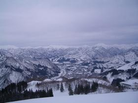 加山キャプテンコーストスキー場と湯沢パークスキー場