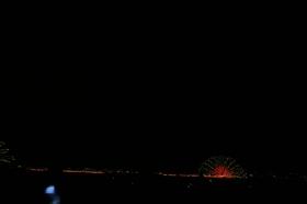 2006年諏訪湖祭湖上花火大会 Kiss of Fire 最初の1枚